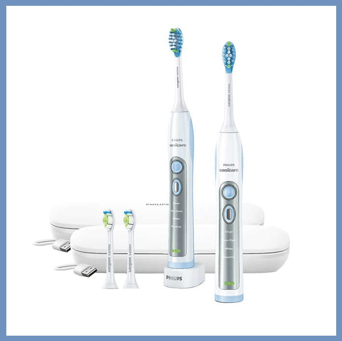 Costco (Member Only Item) ~ Philips Sonicare Flexcare Whitening Edition Toothbrush with Charging Travel Case - White Reg: $159.99 Now: $119.99 (Ends 5/13 ~ Limit 2 per member) + Free shipping  Features:  Removes up to 100% more Stains than a Manual Toothbrush  Removes Up to 10x More Plaque Than a Manual Toothbrush  4 Cleaning Modes: Clean, White, Gum Care, Sensitive  Smartimer and Quadpacer Simplify Brushing  Charging Travel Cases Allow you to Take your Flexcare Anywhere