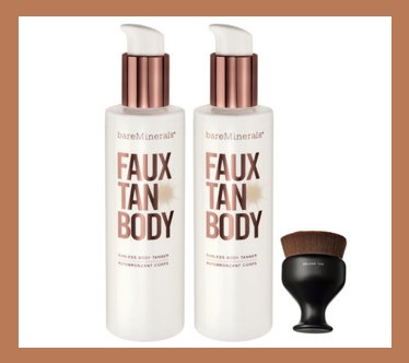 HSN ~  bareMinerals Supersize Faux Tan Collection with Brush    QVC PRICE: $44.00  FEATURED PRICE: $39.98  + S&H: $3.00