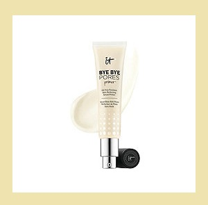 QVC ~ IT Cosmetics Bye Bye Pores Oil-Free Skin Perfecting Serum Primer   QVC PRICE: $38.00  FEATURED PRICE: $34.54  + S&H:$3.00  Bye Bye Pores Skin Perfecting Serum Primer instantly blurs the look of pores, fine lines, wrinkles, and uneven texture while hydrating your skin!  Includes:  1.0-fl oz Bye Bye Pores Skin Perfecting Serum Primer