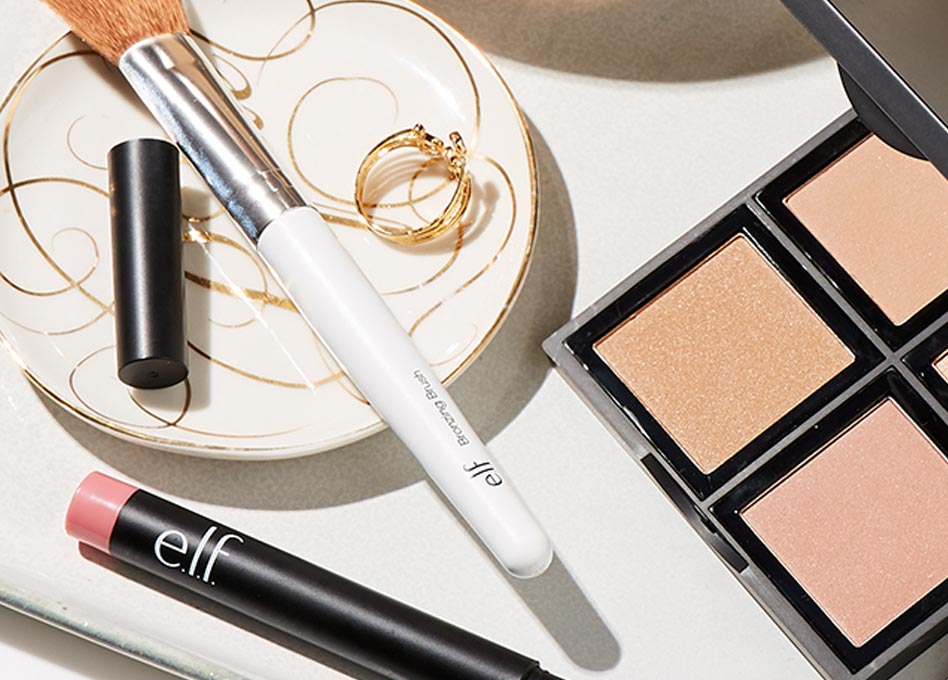 e.l.f. cosmetics  ~ Free 3-piece set with any $25 purchase (No promo code needed ~ ends 6/12 at 11:59 PM PST) + Free shipping with any $25 order