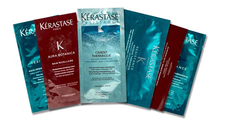 Kérastase  ~ 6 free samples & free shipping with any order with promo code:  EXTEN18(Ends 6/4 at 7:30 A.M. EST) + 2 free samples with every order (My Kerastase Members receive 3 free samples and free shipping with every order ~ It's free to  join !)