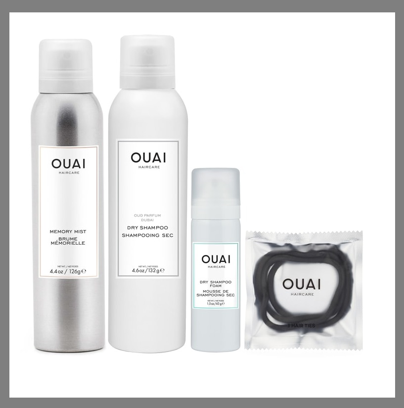 Nordstrom ~ OUAI 4-Piece Hair Care Set  (Nordstrom Exclusive ~ $70 value) $35 + 3 free samples with any beauty ordr + Free shipping