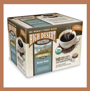 Sam's Club ~ High Desert Roasters Donut Shop Coffee K-Cups  (140 -count)  Reg: $37.98  Now: $32.98 (Ends 7/15+ Free shipping  (That's only $.24 each!)
