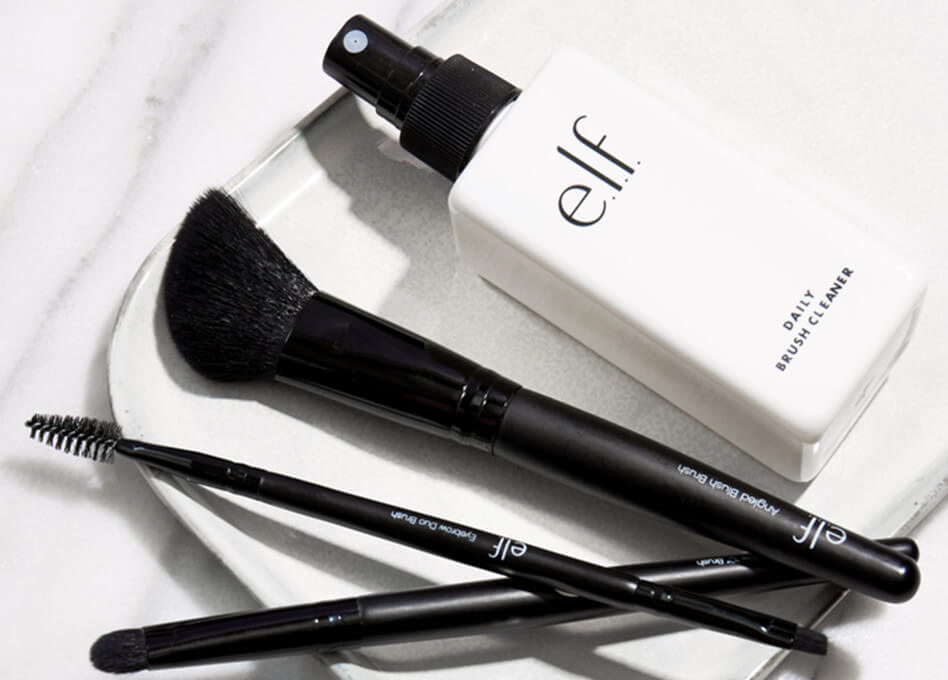 e.l.f. cosmetics  ~ FREE 4-PIECE BRUSH SET WITH $25 PURCHASE (No promo code needed ~ Ends 11:59 PM PST 07/10/2018) + Free shipping with any $25 order