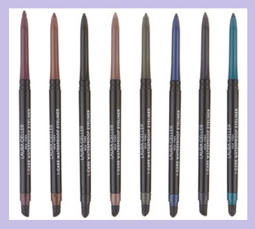 QVC ~  Laura Geller 8-Piece I-Care Eyeliner   QVC PRICE: $46.50  FEATURED PRICE: $42.24  + S&H: $3.00  Includes:     0.01-oz I-Care Waterproof Eyeliner in Evergreen  0.01-oz I-Care Waterproof Eyeliner in Rose Gold  0.01-oz I-Care Waterproof Eyeliner in Cafe Mocha  0.01-oz I-Care Waterproof Eyeliner in Black  0.01-oz I-Care Waterproof Eyeliner in Eggplant  0.01-oz I-Care Waterproof Eyeliner in Navy  0.01-oz I-Care Waterproof Eyeliner in Ocean  0.01-oz I-Care Waterproof Eyeliner in Charcoal