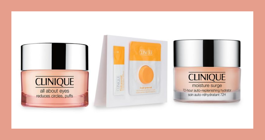 Lord & Taylor ~  Free 3-Piece Gift: All About Eyes (5ml), Fresh Pressed Vitamin C , and Moisture Surge 72hr with $35 Clinique purchase  + Free shipping with $49 beauty order or Free ShopRunner shipping on eligible items