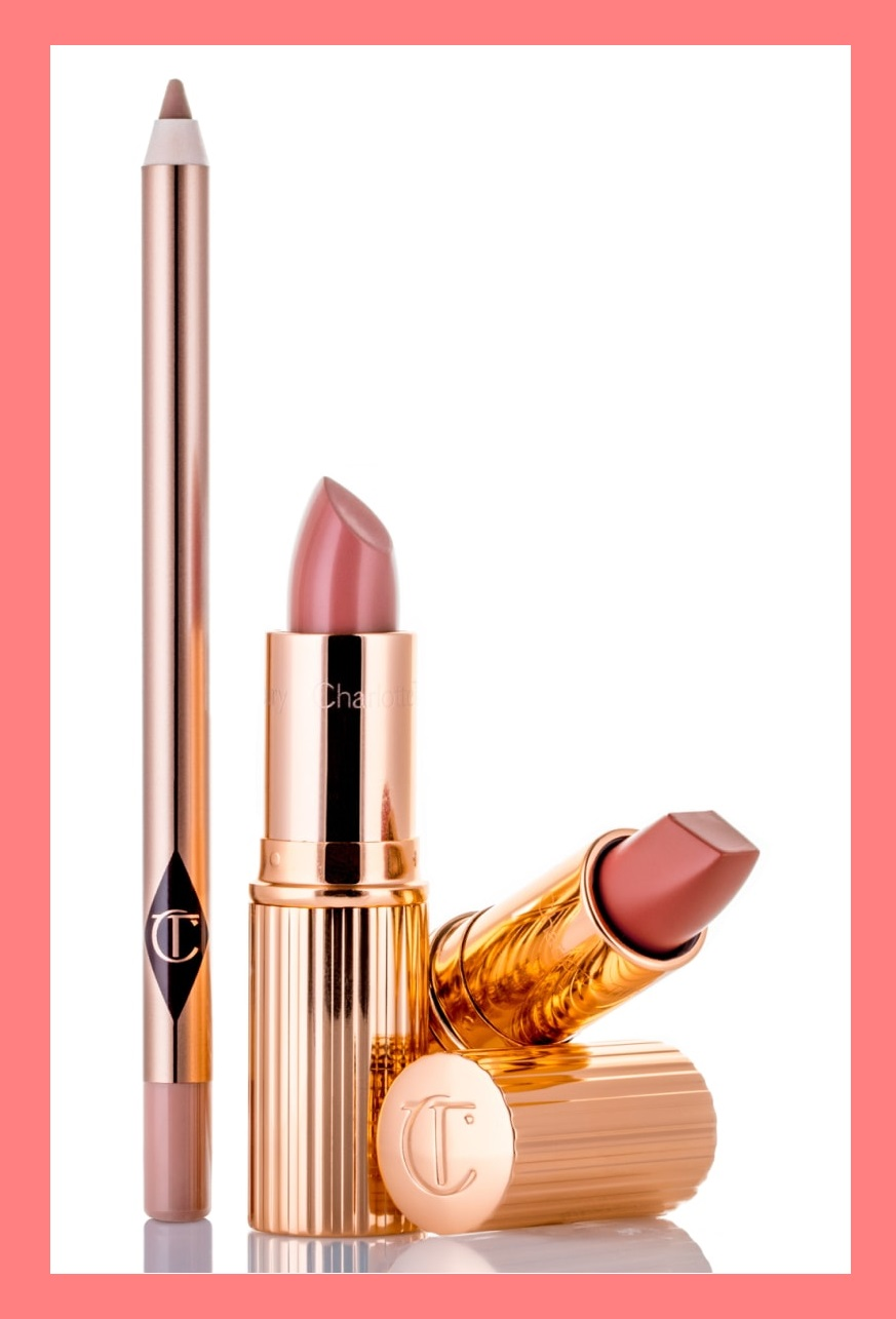 Nordstrom ~  CHARLOTTE TILBURY The Pretty Pink Lipstick Set  ($90 value) $60  + Free 2-Piece Charlotte Tilbury Gift with $150 Charlotte Tilbury purchase (No promo code needed)  + Free 18-piece gift with any $125 beauty or fragrance purchase (No promo code needed)  + Free 15-piece gift with your $125 Beauty or Fragrance purchase with promo code: DEALMOON  + 5 free samples  + Free shipping       What it is : A beautiful trio of lip products to help you create the perfect pink pout.   What it does : Matte Revolution Lipstick is a magical, matte lipstick with a long-lasting, buildable, hydrating formula featuring 3D glow pigments to create the illusion of lit-from-within lips that appear wider and fuller. K.I.S.S.I.N.G. Lipstick is enriched with the antioxidant Lipstick Tree, a breakthrough, secret ingredient that naturally protects lips from UV damage, leaving them cashmere-soft and irresistible. Lip Cheat Re-Size & Re-Shape Lip Liner is a rich, velvety liner with the power to reshape, resize and balance your lips. It enhances your lip shape for up to six hours thanks to a no-smudge, waterproof formula that won't feather or transfer.   Set includes :  - Lip Cheat Re-Size & Re-Shape Lip Liner in best-selling Pillow Talk (0.04 oz.)  - Matte Revolution Lipstick in Nordstrom-exclusive Rose Kiss (soft, warm merlot with a natural matte finish) (0.12 oz.)  - K.I.S.S.I.N.G. Lipstick in Nordstrom-exclusive Blushing Dream (cool feminine rosebud with a satin finish) (0.12 oz.)  Paraben-free