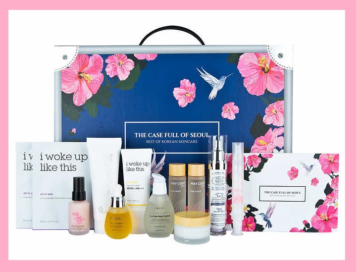 Costco ~  The Case Full Of Seoul, Best Of Korean Skincare, 11-piece Set   Reg: $149.99  Sale:  $119.99  (Ends 9/30)  + Free shipping   Features:   11-Piece Set  For All Skin Types  All Products Work Together  For More Healthy, Vibrant Skin   K Beauty skincare is a lifestyle category of its own. Now, K Beauty incubator Umma, has created The Case Full of Seoul, which offers an ultra-luxe Korean skincare experience in one, easy to navigate kit. This one-stop-shop for K Beauty contains the best of the best from seven of Korea's most sought-after brands, which have been meticulously curated so that each product in the box complements the other. These 10 skin-changing products truly work best when used together and they come with clear instructions for multiple skincare regimens for healthy, vibrant, gorgeous skin.