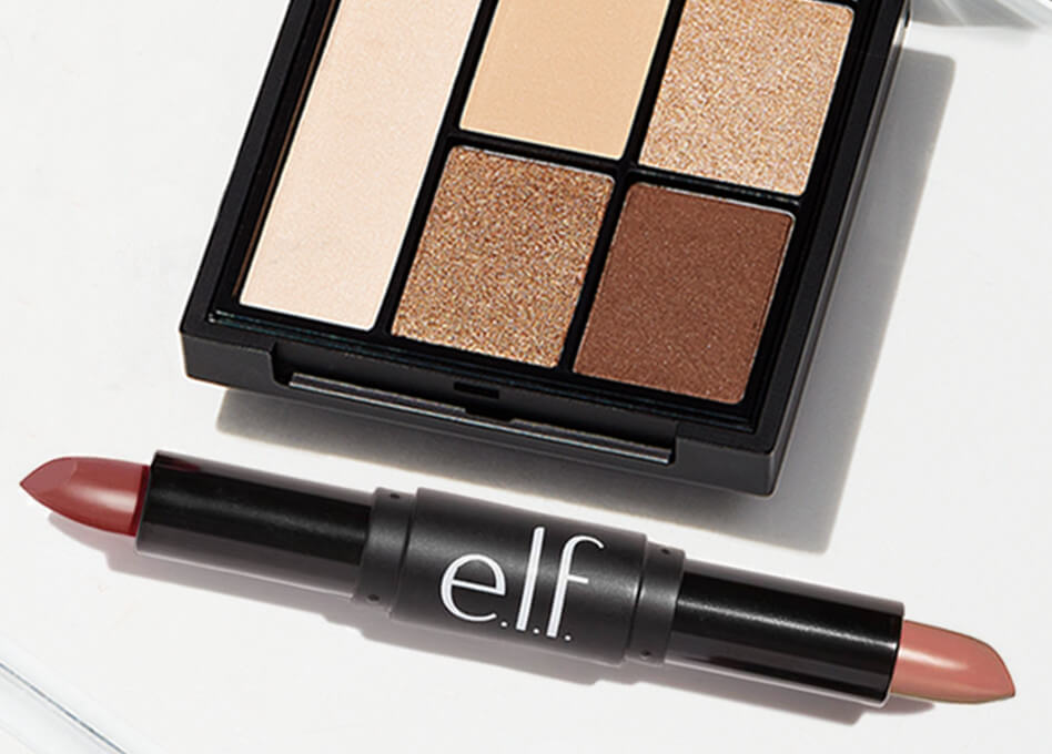e.l.f. cosmetics ~  Free  2-PIECE NECESSARY NUDES SET with any $25 Purchase     ($11 value ~ Ends 10/2 at 11:59 PM PST) + Free shipping with $25 order