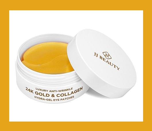 HSN ~  JJ Beauty 24K Gold & Collagen 60-piece Eye Patches   HSN price: $42.00  Special price: $36.00  S & H: $3.00   What It Is:   Hydra-gel patches formulated with gold, colloidal gold, hydrolyzed collagen, hyaluronic acid, and other fine ingredients to help under-eye area skin look refreshed and more youthful.   What You Get:   3.17 fl. oz. (approx. 30 pairs) 24K Gold & Collagen Eye Patches   What It Does:   Help hydrate and reduce the appearance of fine lines in the under-eye area  Helps give the eye area more radiant-looking skin  Formulated with gold, colloidal gold, hyaluronic acid, collagen, raspberry fruit extract, honey extract, lavender oil, fig oil, ginkgo bilboa, and other fine ingredients  Imported from South Korea