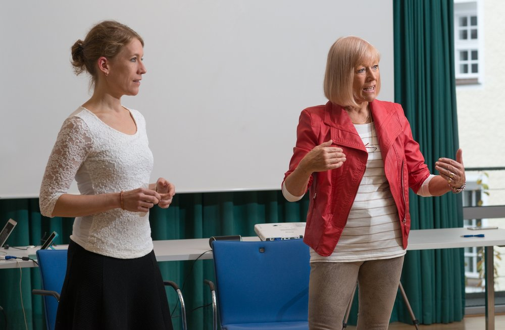 Charlotte Cordes en Noni Höfner