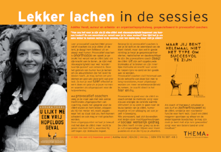 Adelka Vendl - lekker lachen in sessies
