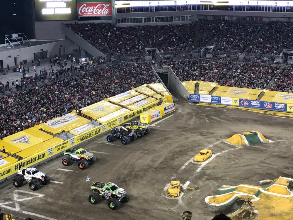 Monster Jam: Review on monster truck racing