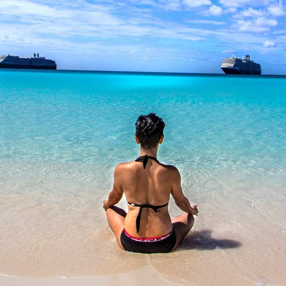 2017 Half Moon Cay HAL Acupuncturist at Sea