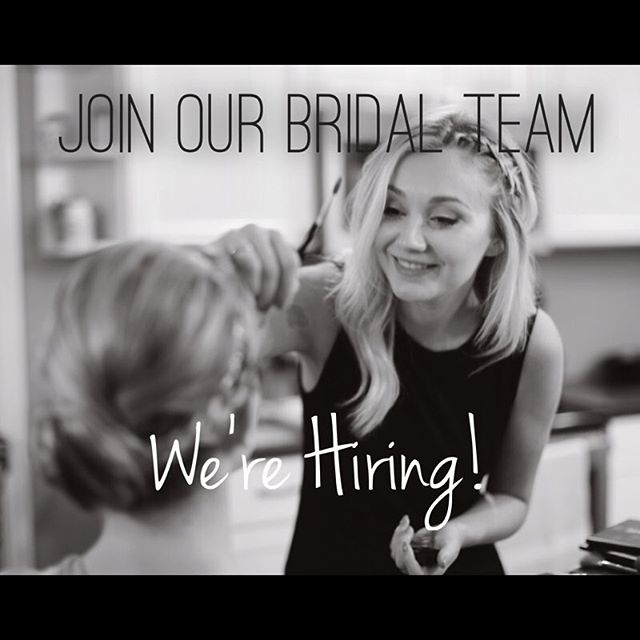 Are you a talented makeup artist or cosmetologist who is interested in freelance opportunities with our Bare Bridal team? We are almost fully booked for wedding weekends in 2018 and are looking for talented makeup artists & hair stylists to join our team.✨ Requirements: * Applicants MUST have weekends available and be able to book out dates far in advance * 2+ years professional experience * Experienced makeup artist / licensed hair stylist * Experience with formal styling/updos * Available for travel (we travel throughout greater Kalamazoo and Grand Rapids) * Reliable transportation -Email resume to laurel@barewaxkalamazoo.com-