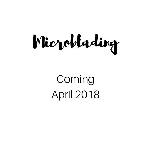 Our Allison has O.B.D (obsessive brow disorder) and can't wait to share it with you all in April when she brings Microblading to Bare! We all trust this girl with our life (aka our eyebrows) ... and you should too! 😉🙌🏼
