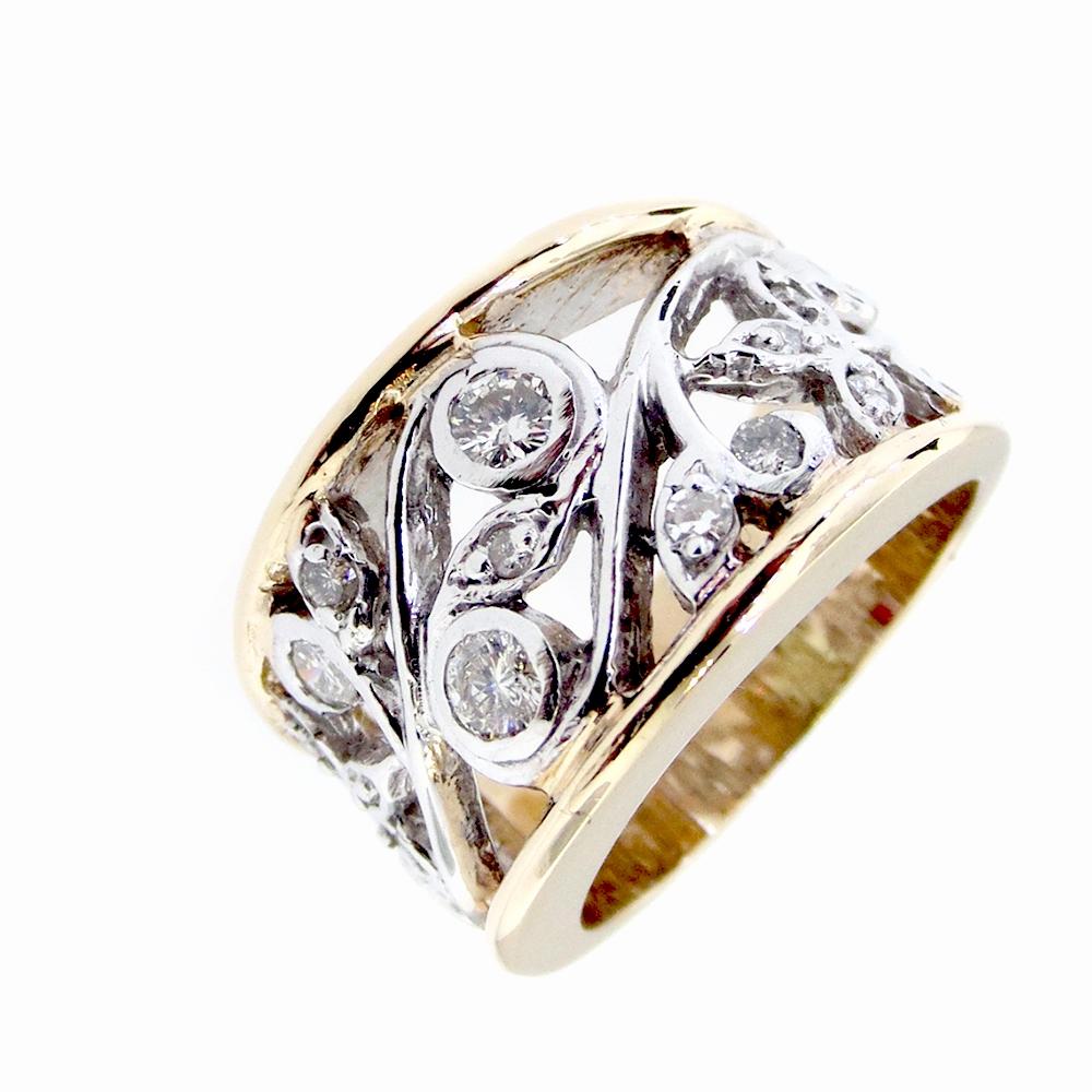 Custom Diamond Band-gold star jewellers
