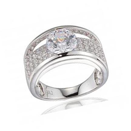 Silver C.Z Rings