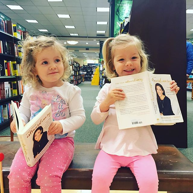 We can't handle the cuteness! Even 2-year-olds know the best book around 😉 Thanks for sharing @heather_krout! #helloextraordinary