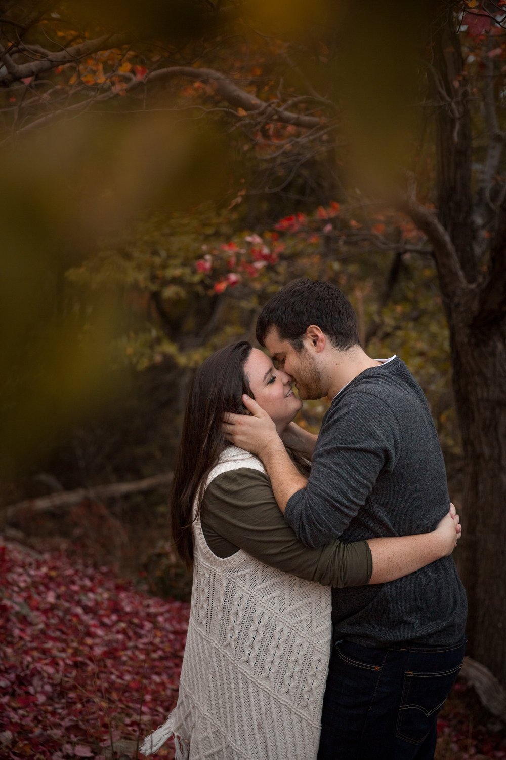 bear mountain engagement photos