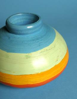 Striped Urn