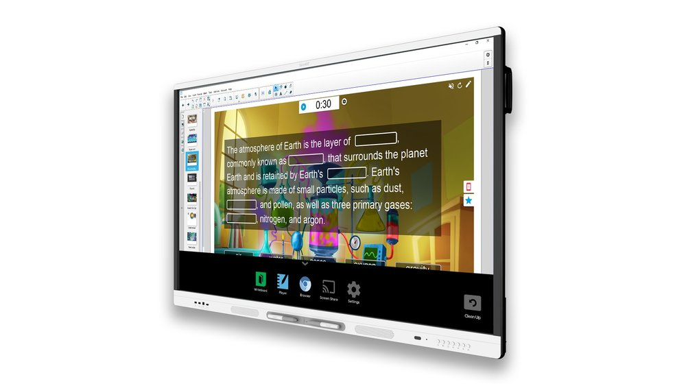 SMART MX Display - Digital whiteboard. Chromium™ web browser. Easy screen sharing. SMART Board MX series has all the essentials educators need to bring the devices students love into any learning environment. Available in 65