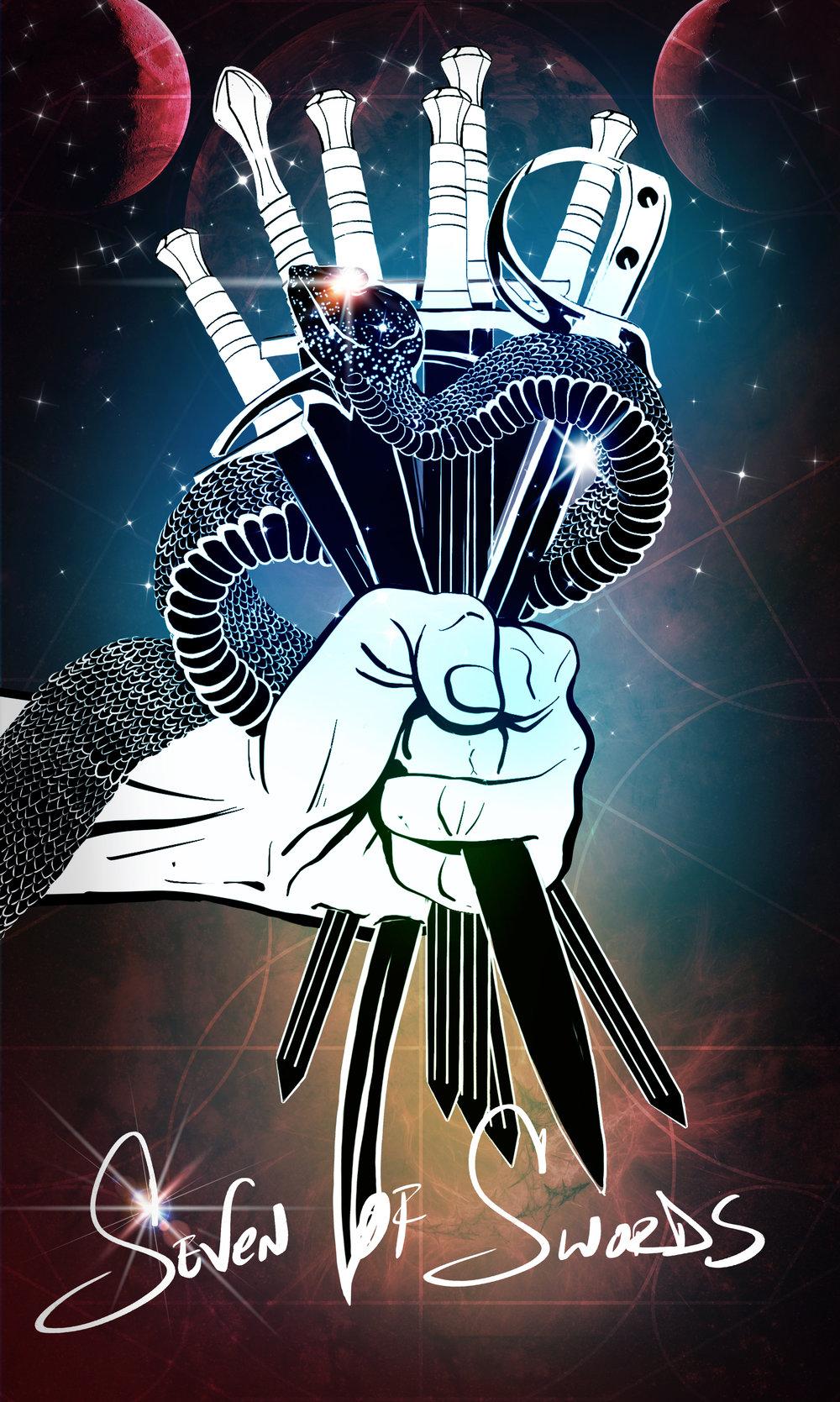 Seven of Swords