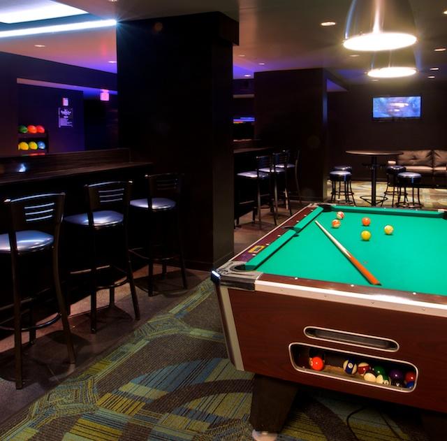 Hotel Blackhawk Restoration St Louis - Blackhawk pool table