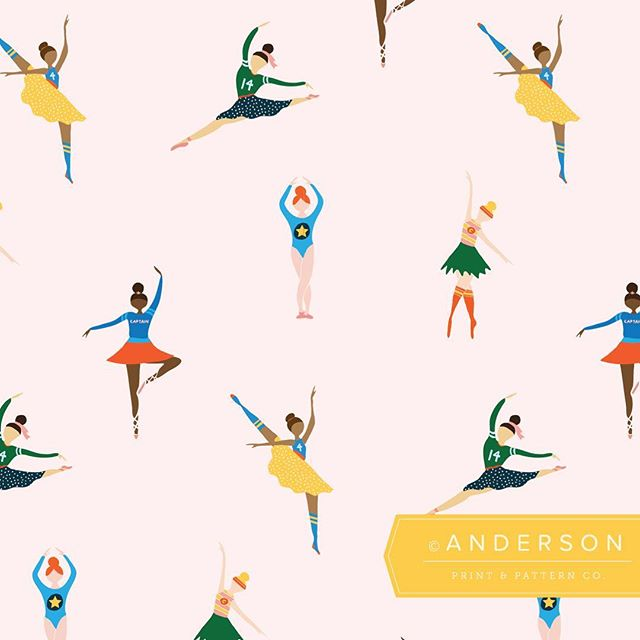 Had so much fun working on these sporty ballerinas. 💪✨