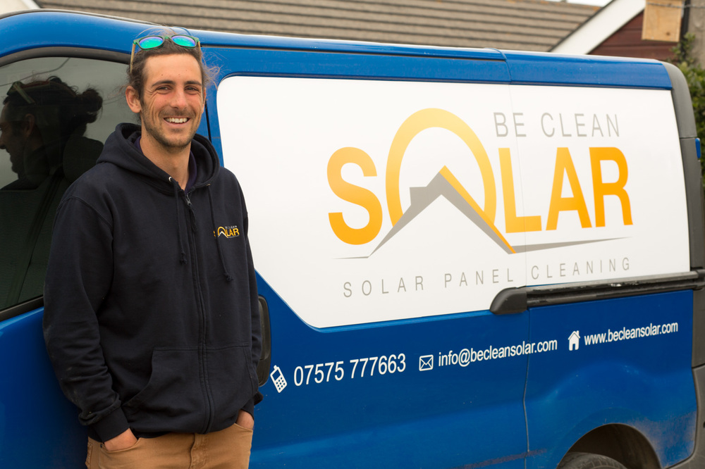 Ben Davis owner of Be Clean Solar