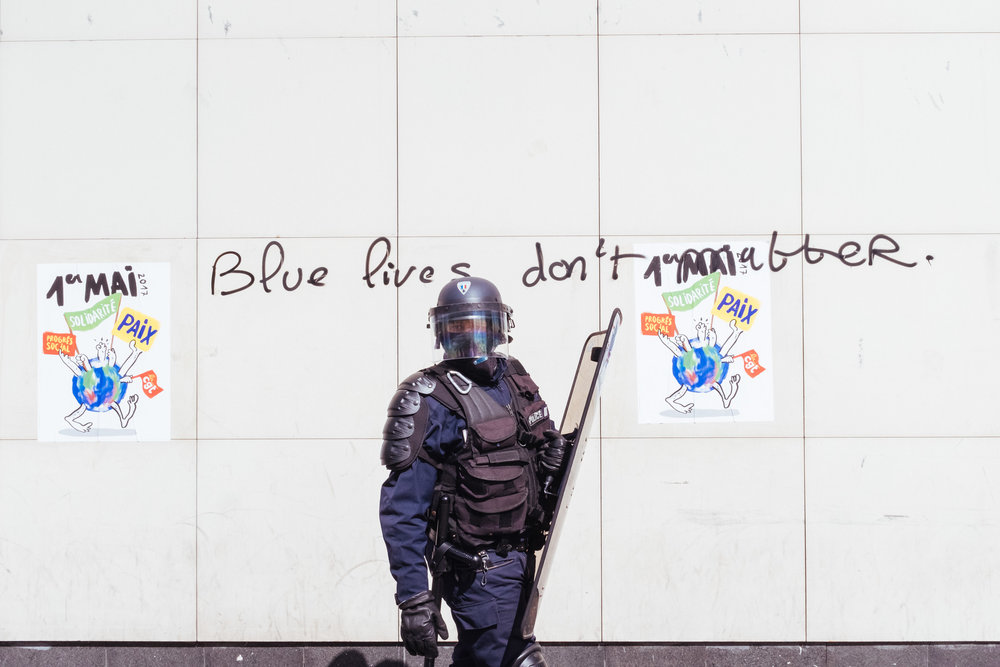 Blue Lives.   Paris, 2017.