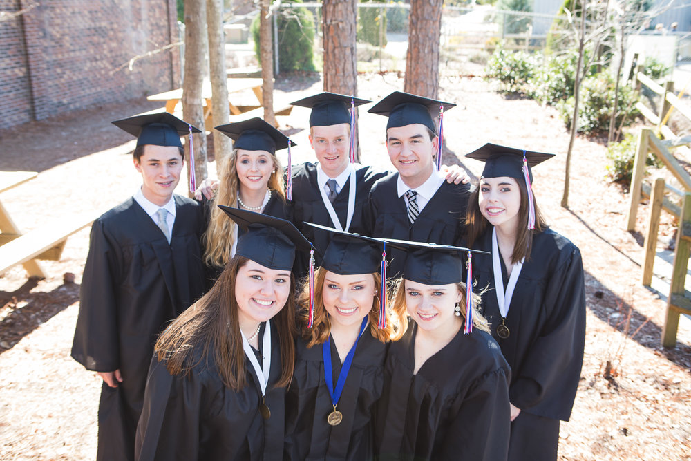 Inspiring Intellect - The Academy's academic program challenges students to maximize their God-given intellectual abilities as they prepare for success in the next phase of their education.