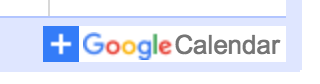 """Click the """"+Google Calendar"""" button at the bottom right of any calendar you would like to add to your account."""