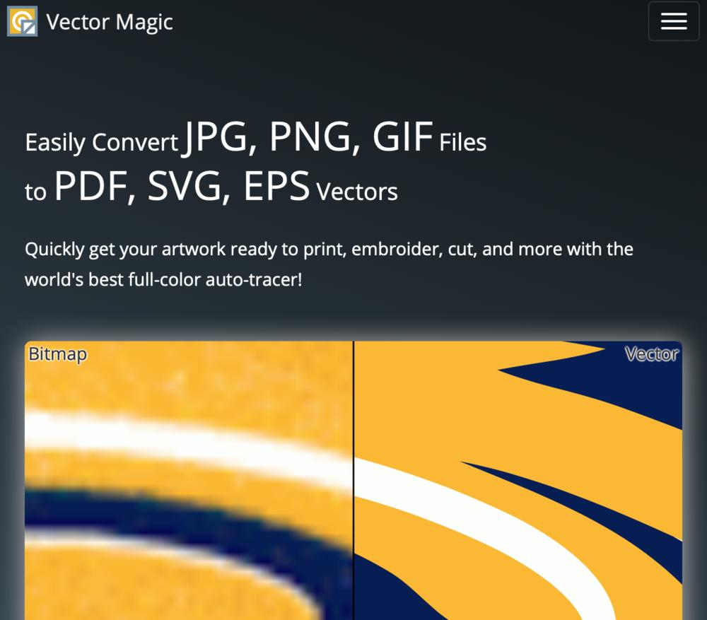 Free  image/vector converter - Vectormagic.com