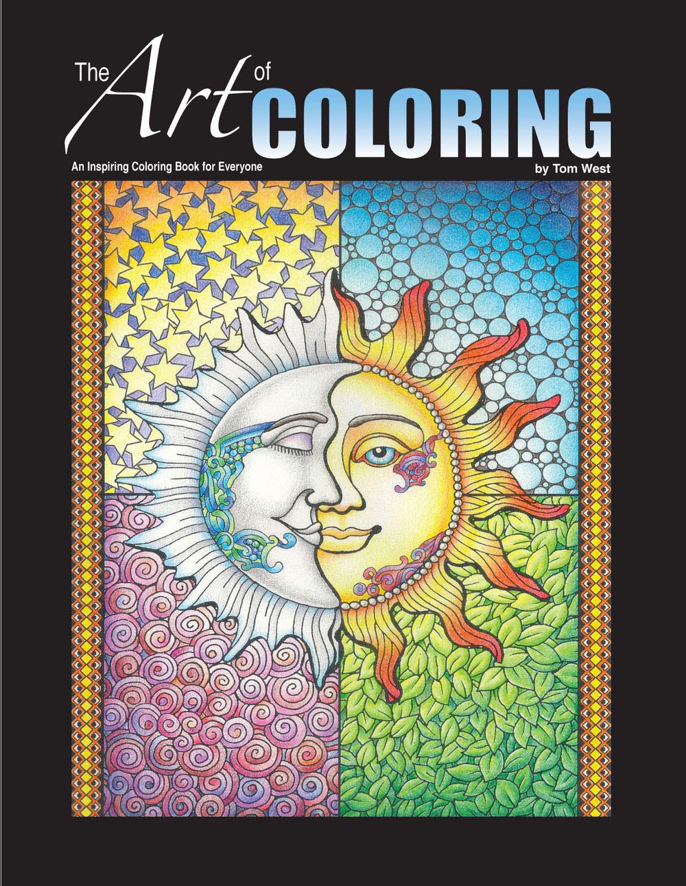 this specially designed coloring book by artist tom west welcomes you to the world of creative coloring with tips and examples to help you create your own
