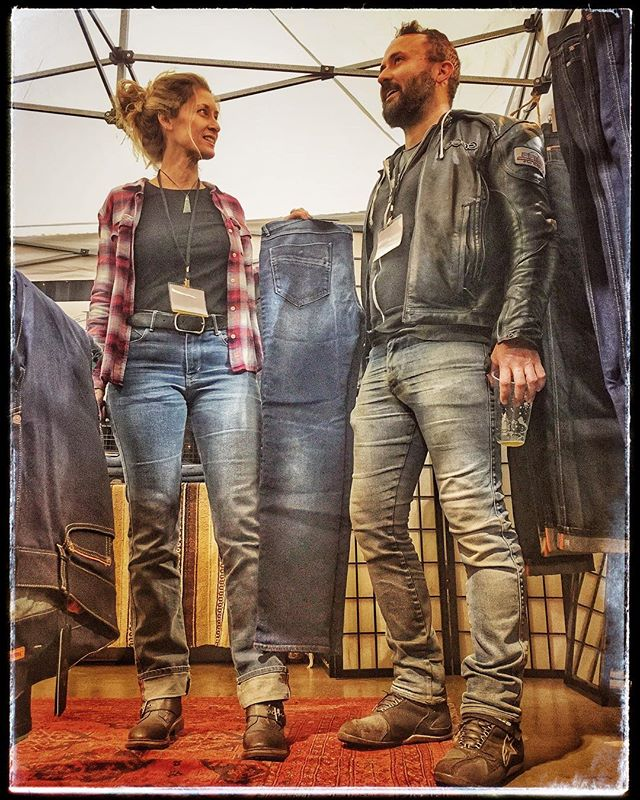 The most comfortable motorcycle jeans on the planet. Come see us this weekend at the IMS (International Motorcycle Show) in Long Beach Booth 473. #bolidster #thisiseunique