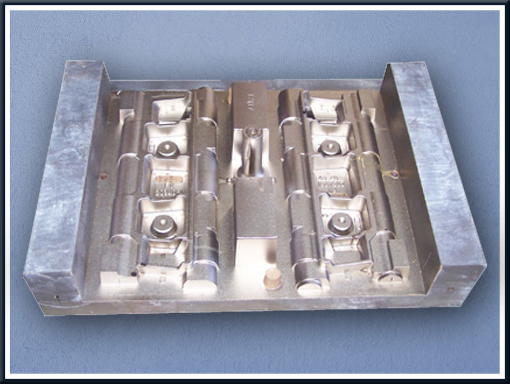 Electroless nickel has greatly extended the lifespan of mould tools like these