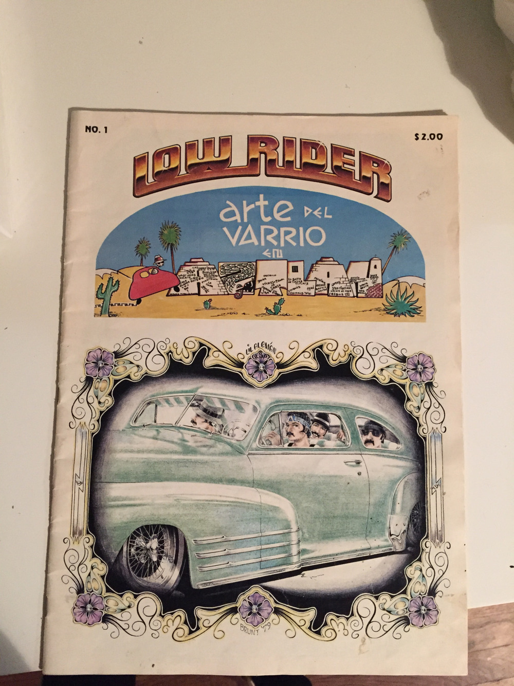 First issue of Low Rider Magazine