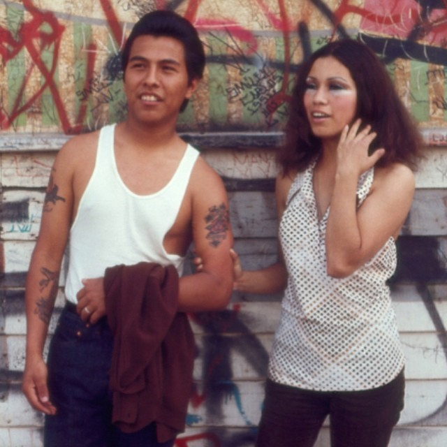 chicanachicanohistorians :     Photo by iconic Chicano Photographer OscarCastillo