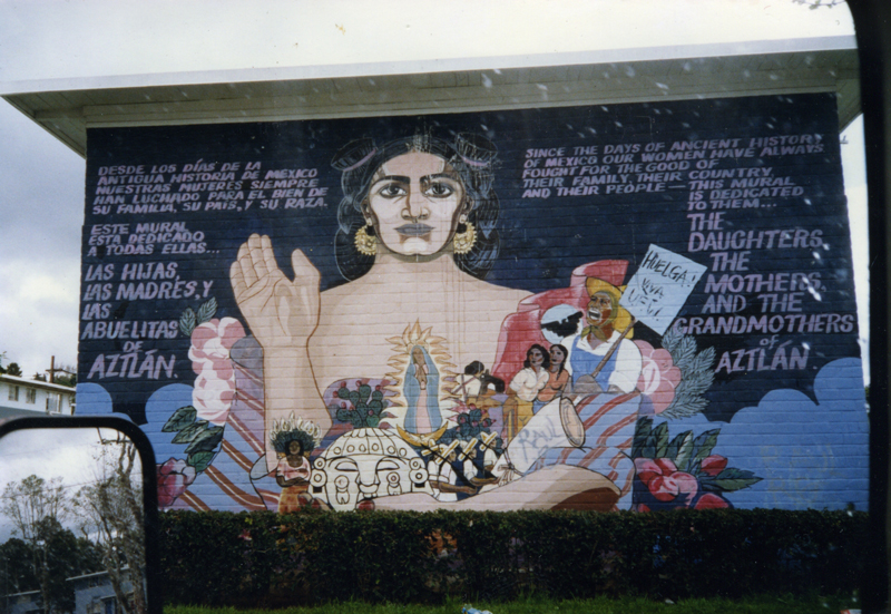 Almaraz Mural at Romona Gardens / Courtesy of Joe Rodriquez
