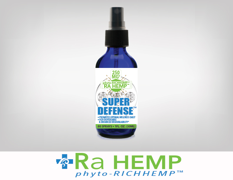 Ra Hemp Super Defense 1 White