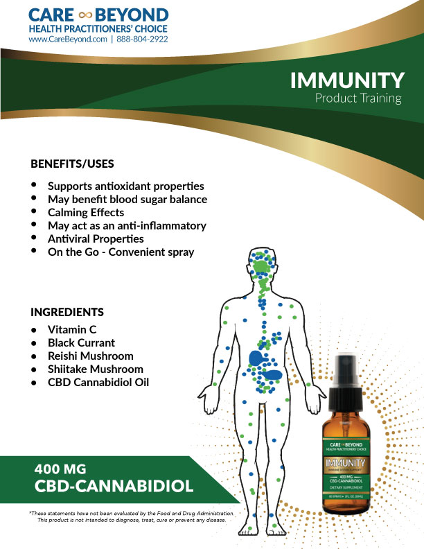 IMMUNITY SPRAY TRAINING SHEET     DOWNLOAD PDF OR PRINT, CLICK HERE
