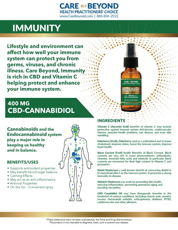 IMMUNITY SPRAY PRODUCT SHEET     DOWNLOAD PDF OR PRINT, CLICK HERE