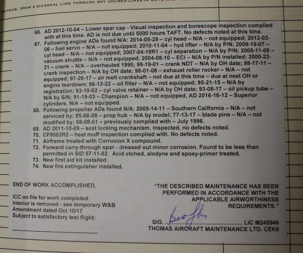 2601.7 TTSN, Engine 272.6TSMO chrome cyl.Progressive Air. Prop 10,0 TSMO.