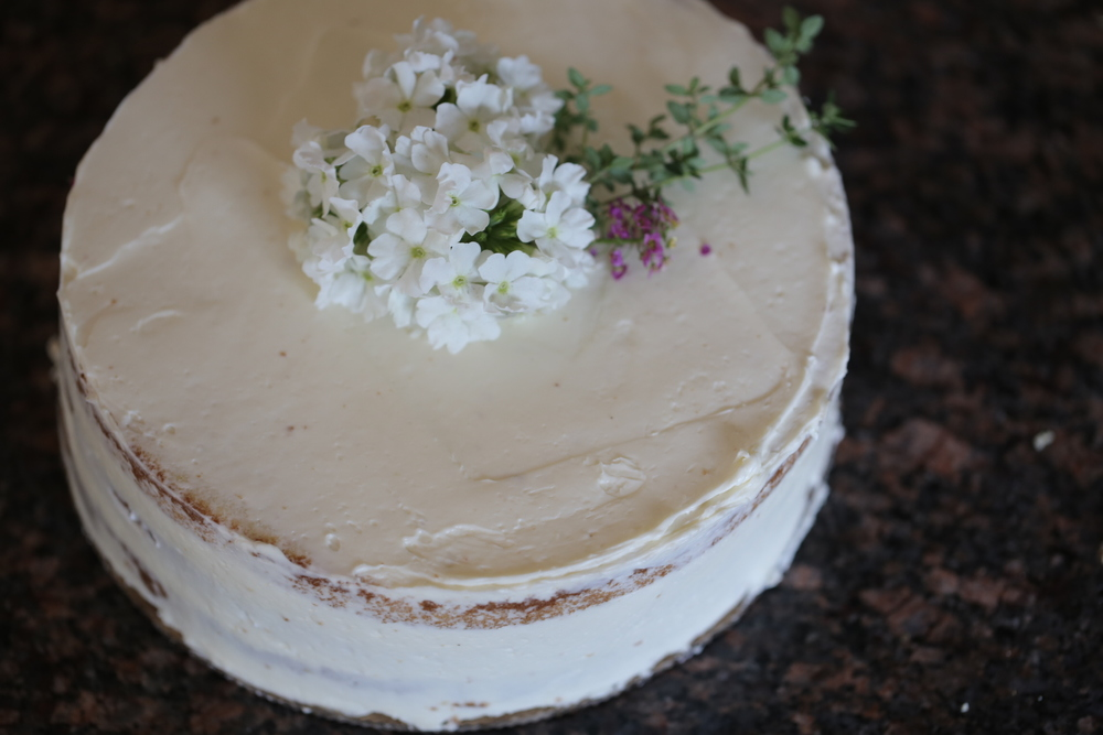 Lemon & Thyme Cake