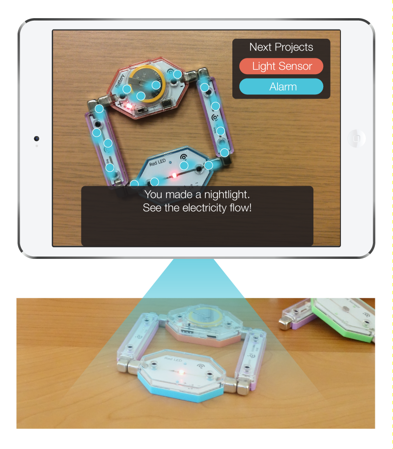 LightUp gives kids X-ray vision to see how things work