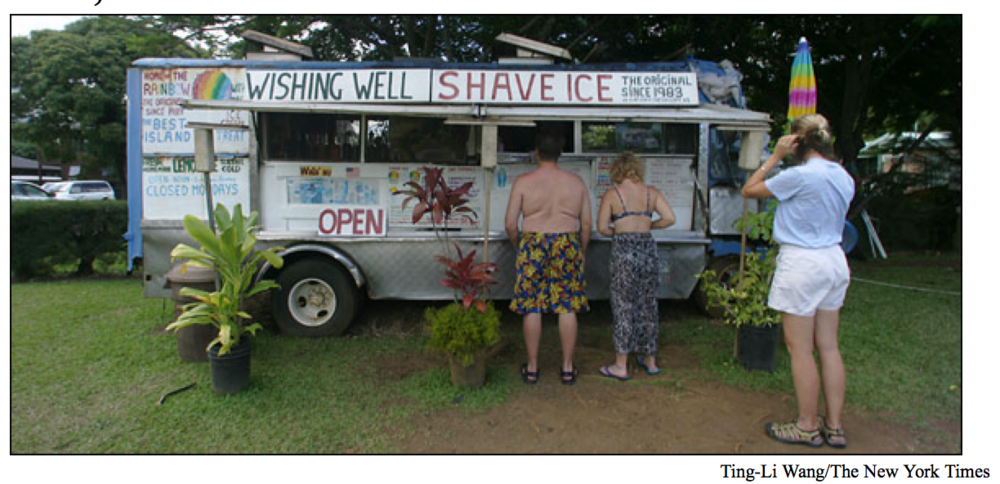 Surf, Shave Ice and Sunsets on Kauai
