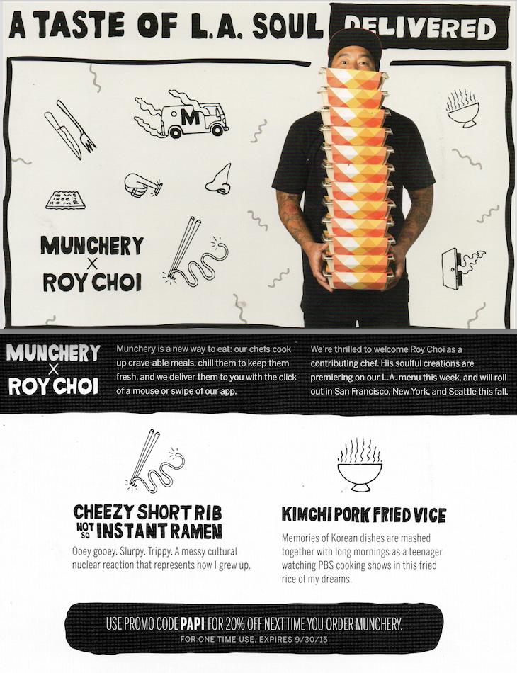 Munchery x Roy Choi