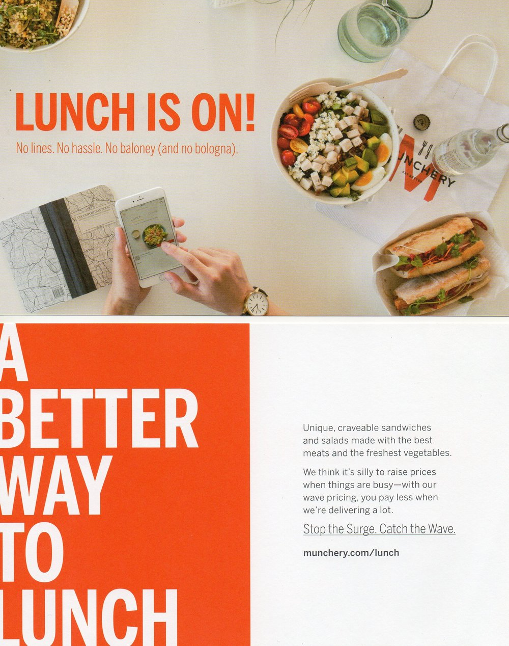 Munchery Delivery Wave Announcement