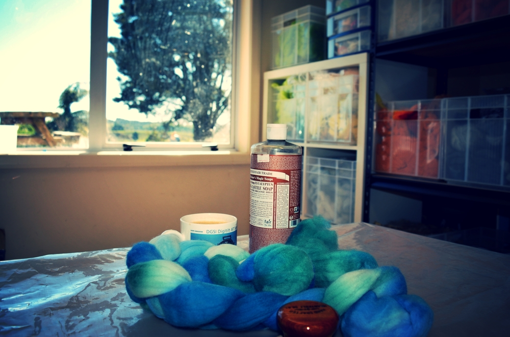 Just a few felting essentials.....